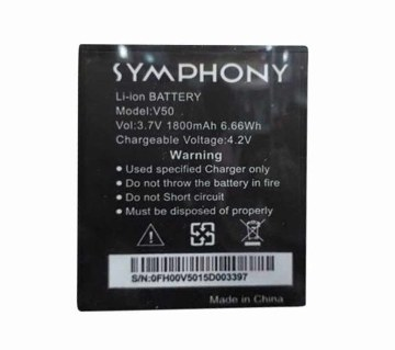 Replacement Battery for Symphony V-50