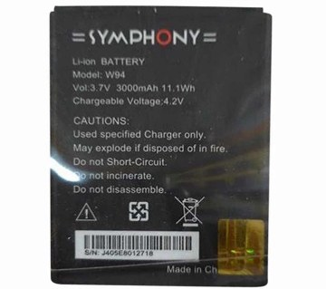 Replacement Battery for Symphony W94