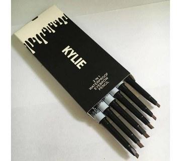 Kylie Eyebrow Pencil-Black Color (1 pc)