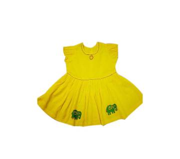 Baby Frock - Yellow