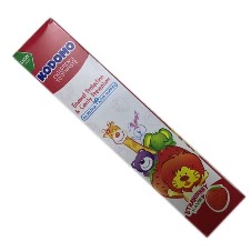 Kodomo strawberry flavor toothpaste 40g - Thailand