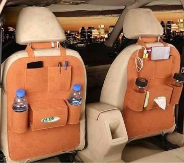 Car seat back organizer- 1 pc