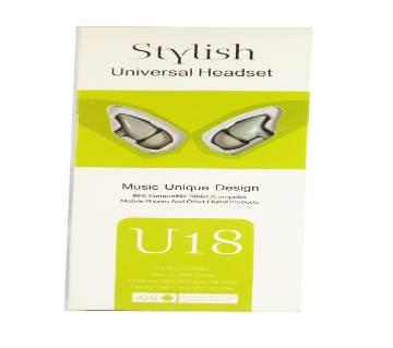 U-18 Universal Earphone