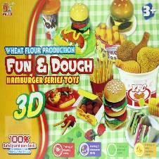 Hamburger Series Color Dough Toys