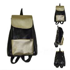 Artificial Leather Ladies Backpack