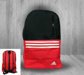 Fiber Canvas Fabric Red Backpack