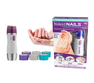 Naked Nails Electronic Nail Care System