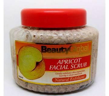 Beauty Global Apricot অর্গানিক ফেসিয়াল স্ক্রাব