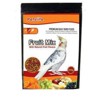 petslife fruitmix for birds