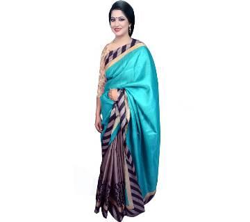 Indian Multicolor Bhagalpuri Silk Sharee