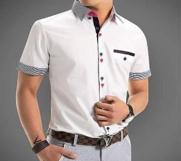 Huff Sleeve Casual Shirt