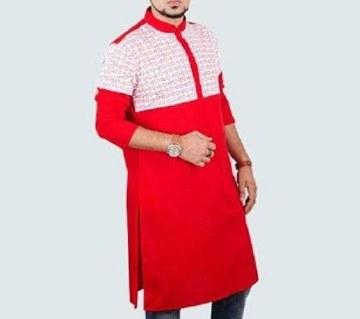 Semi-long Cotton Punjabi