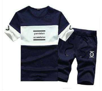 TWO IN ONE MENZ T-SHIRT & SHORTS,