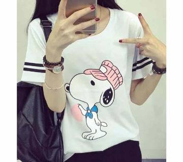 Ladies cotton T- shirt