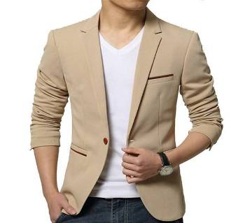 Full China cotton blazer