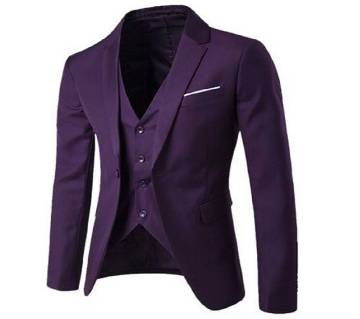 Synthetic Casual Blazer For Men