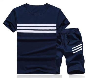 Half seleve  cotton T-shirt For Men