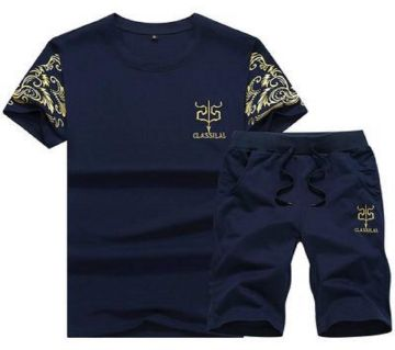 Two in One Menz T-Shirt & Shorts
