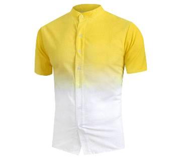 Half seleve  cotton shirt For Men