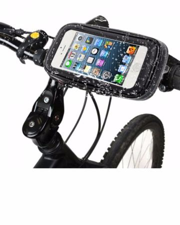 weather resistant bike mount holder case