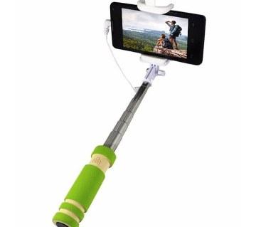 Mini Monopod Selfie Stick – Green