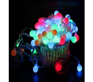 Fairy LED String Lights Christmas Round Ball Bulbs Wedding Party Lamp