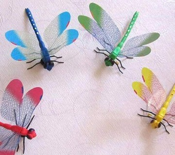 Dragonfly Wall Sticker - 5 pieces