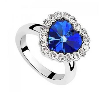 Titanic Heart Shape Finger Ring for Women