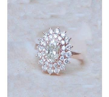 Golden Alloy Ring for Women