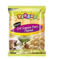 Pinkoo Oval Papad Pani Puri or Fuska