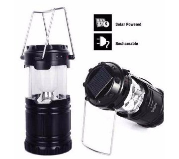 solar lamp with power bank