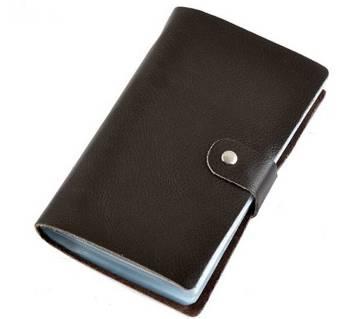 Leather Visiting Card Holder for Men