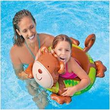 Intex swimming ring monkey Shaped for baby