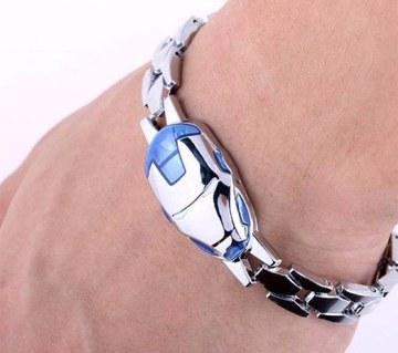 Mens Iron Man Bracelet