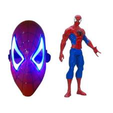 Combo Pack of 2 Action Figure Toy and Mask -