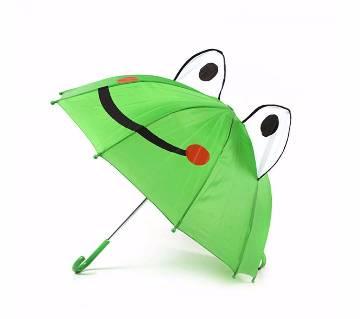 Frog Shaped Umbrella for Kids