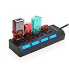 High Speed 4 পোর্ট USB হাব উইথ ON/OFF সুইচ
