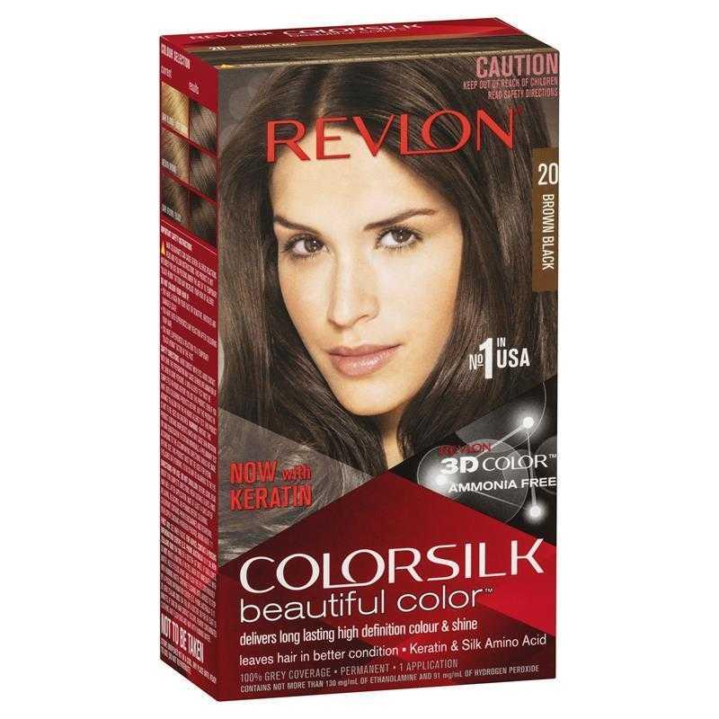 Revlon ColorSilk Hair Color Brown Black 59 ml