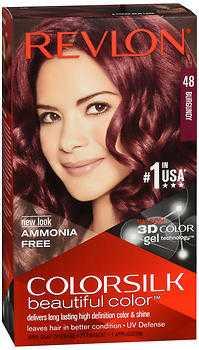 Revlon ColorSilk Hair Color Burgundy 59 ml