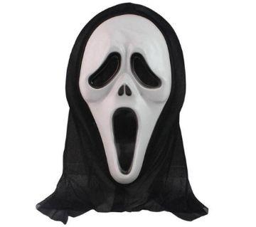 Black & White Ghost Mask
