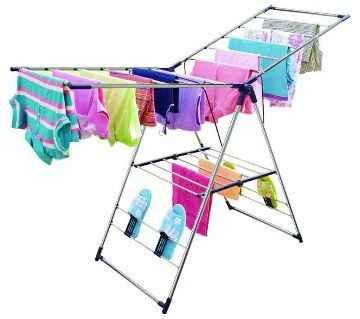 Folding Stainless Steel Clothes Dryer