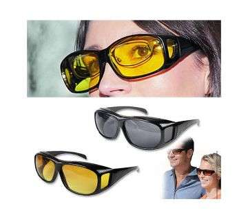 2 IN 1 Night HD Vision Sunglass