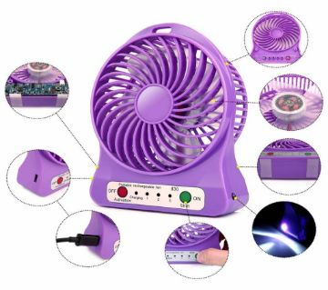 Mini USB  Rechargeable Fan
