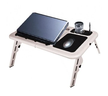 Folding Laptop Table with USB Cooling fan