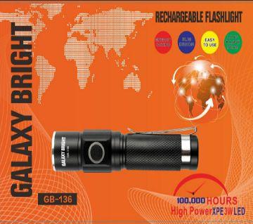 Galaxy bright LED Flashlight-GB-136