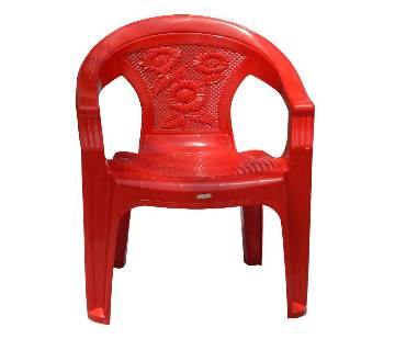 HAMKO HPF01-07 Plastic Garden Super Chair - Red