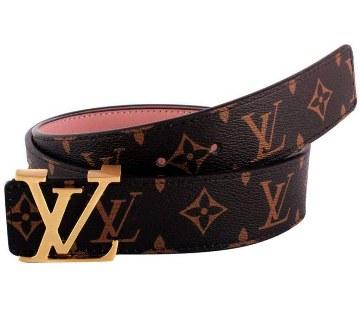 Louis Vuitton জেন্টস ক্যাজুয়াল বেল্ট (কপি) -২০% ছাড়