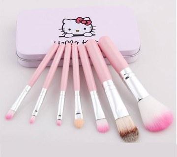 Hello Kitty মেকআপ ব্রাশ সেট (৭ পিস)   -২০% ছাড়
