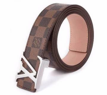 Louis Vuitton Damier Ebene Belt (Copy)