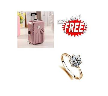 Buy One Musical Jewelry Box & Get One Finger Ring Free